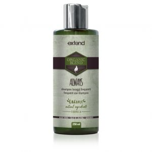 Extend organic blend always shampoo
