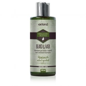 Extend Organic Blend Beard and Hair Shampoo barbe